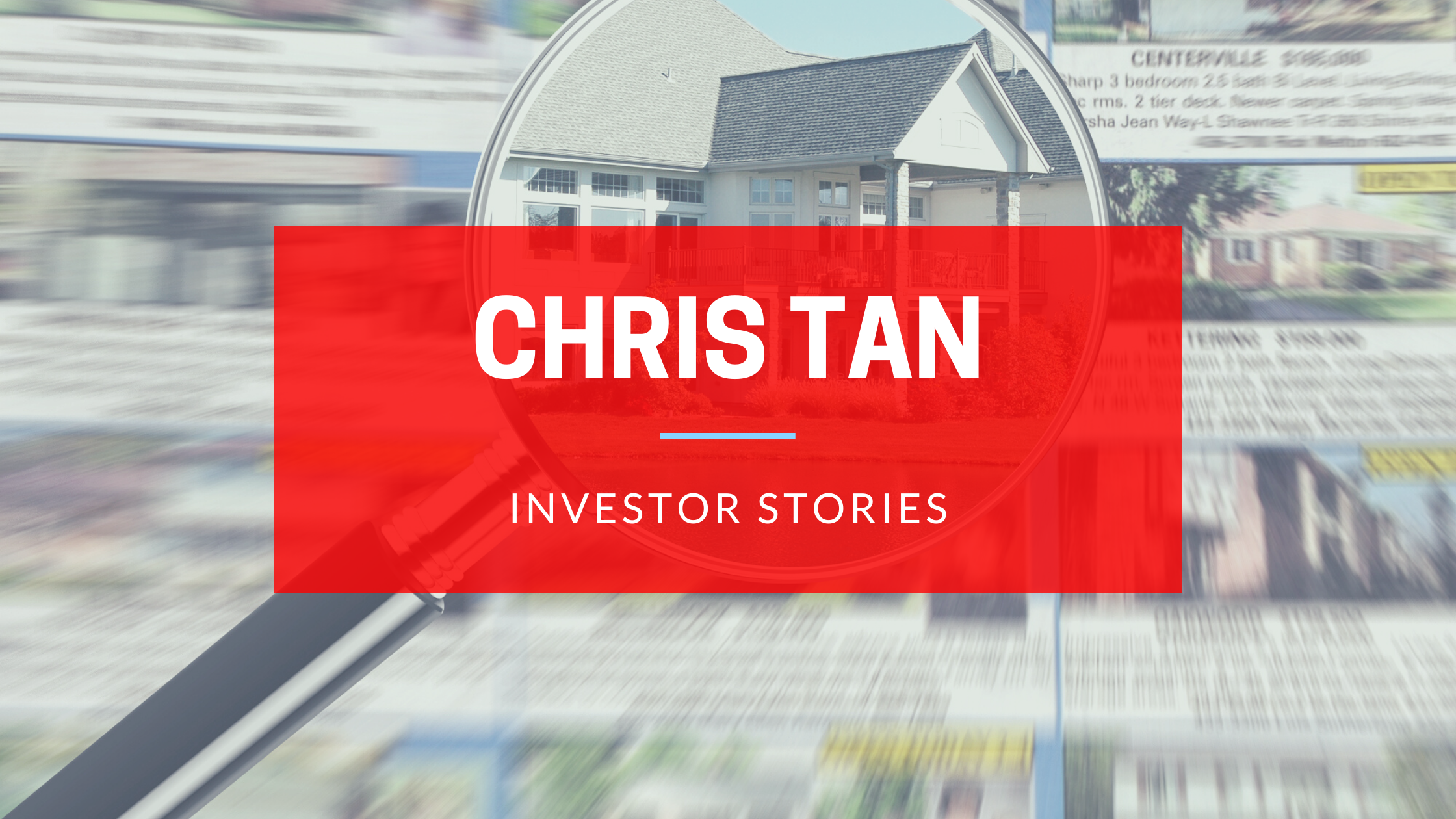 Investor Stories: Chris Tan